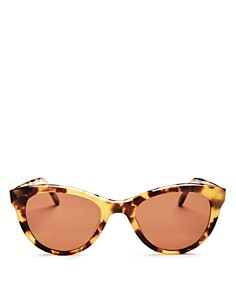 GARRETT LEIGHT - x Clare V Women's Cat Eye Sunglasses, 47mm